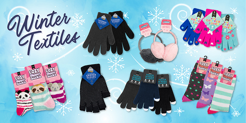 Wholesale Gloves, Hats and Winter Textiles