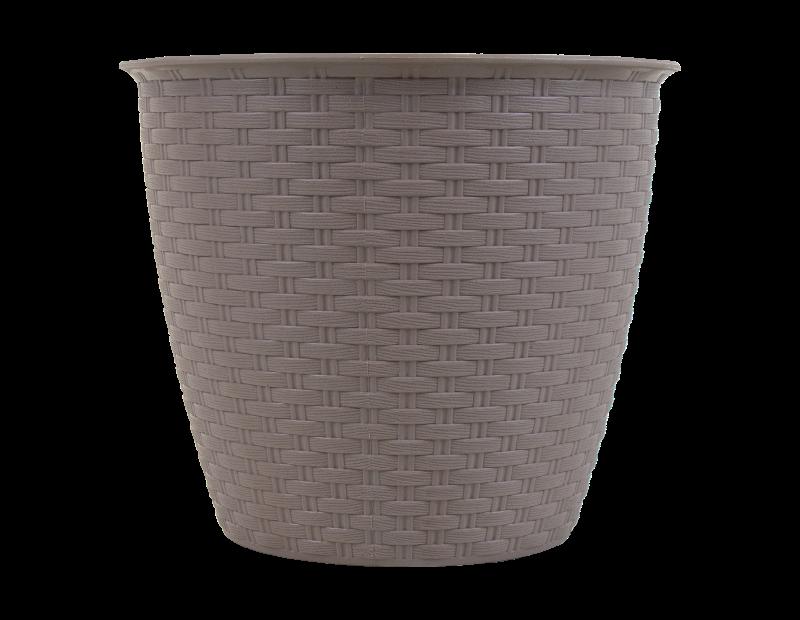Round Rattan Plant Pot 20cm