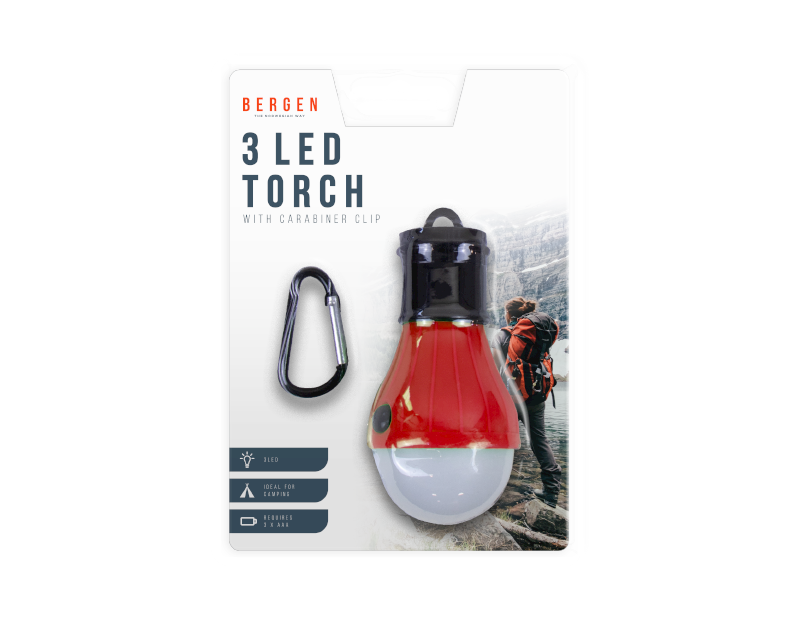 LED Torch With Carabiner