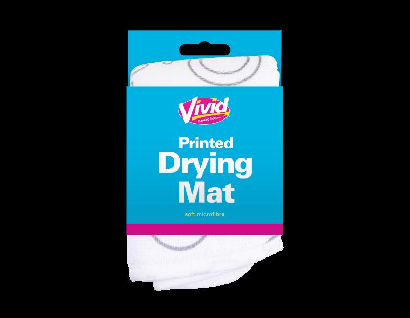 Printed Dish Drying Mat