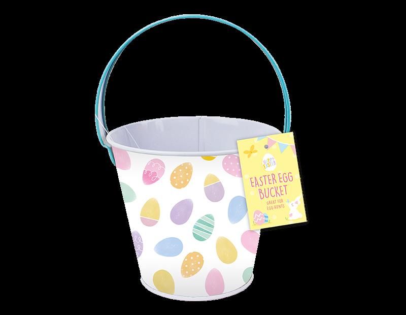 Metal Easter Treat Bucket