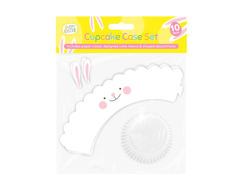 Easter Character Cup Cake Set - 10 Pack