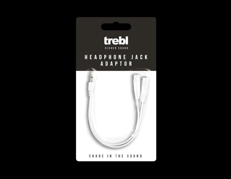 Headphone Splitter Jack Adaptor