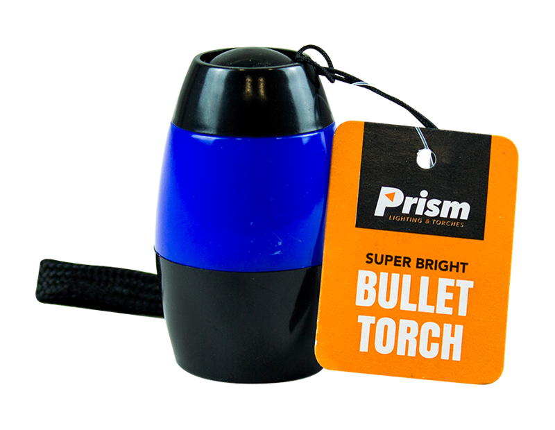 LED Bullet Torch With PDQ