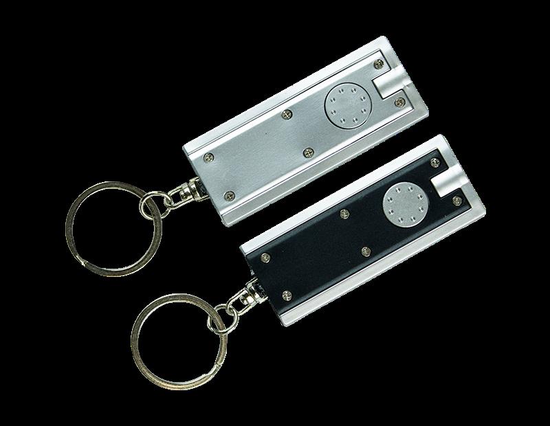 LED Keyring Torch - 2 Pack