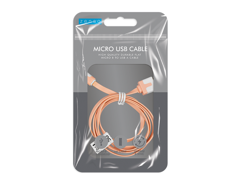 Micro Flat USB Cable 1m
