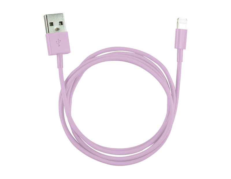 Coloured iPhone USB Cable 1m