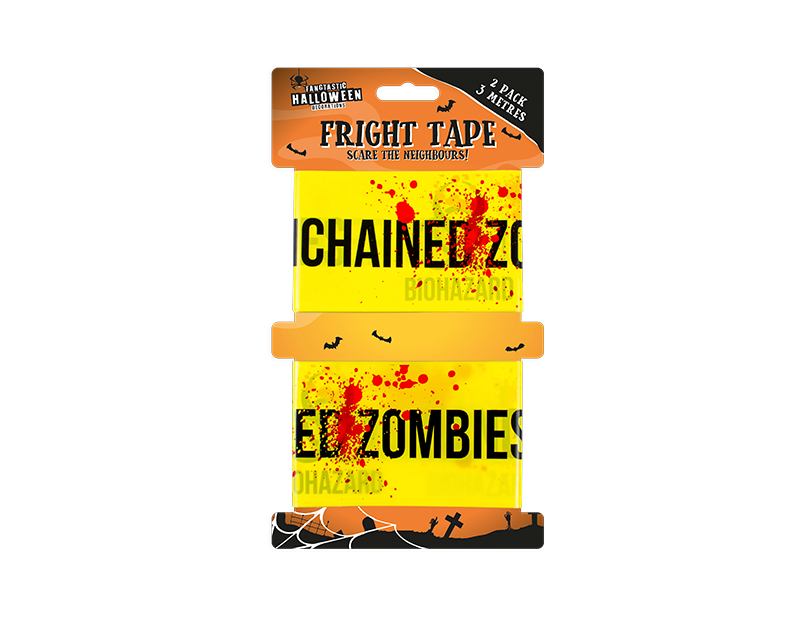 Halloween Fright Tape - 2 Pack
