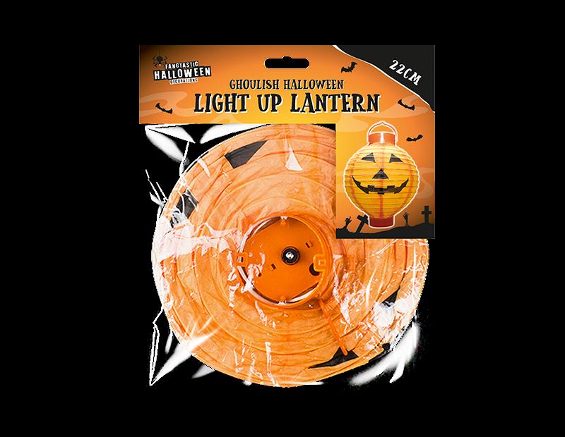 Halloween Light Up Indoor Lantern