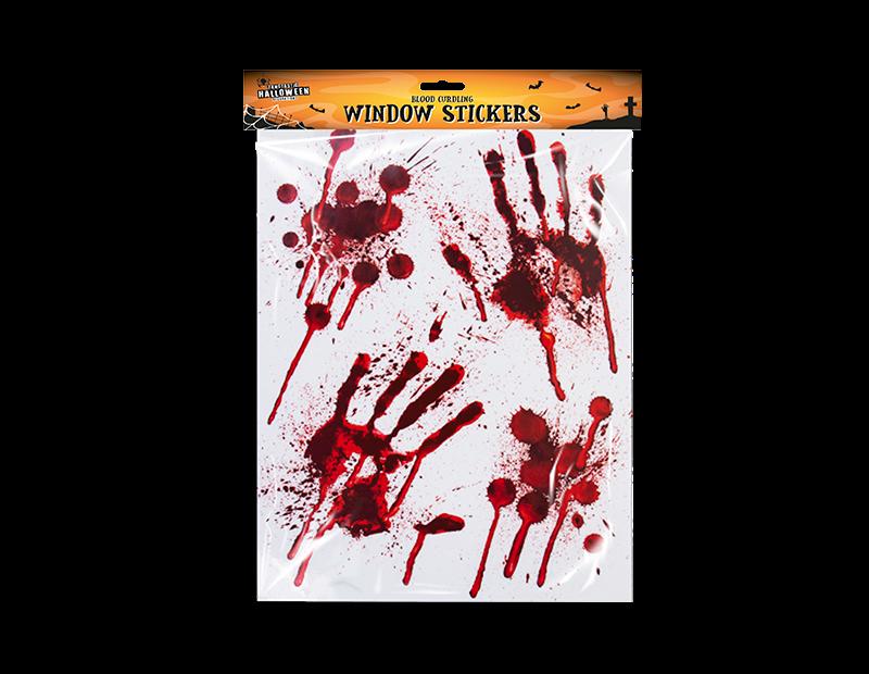 Blood Window Stickers