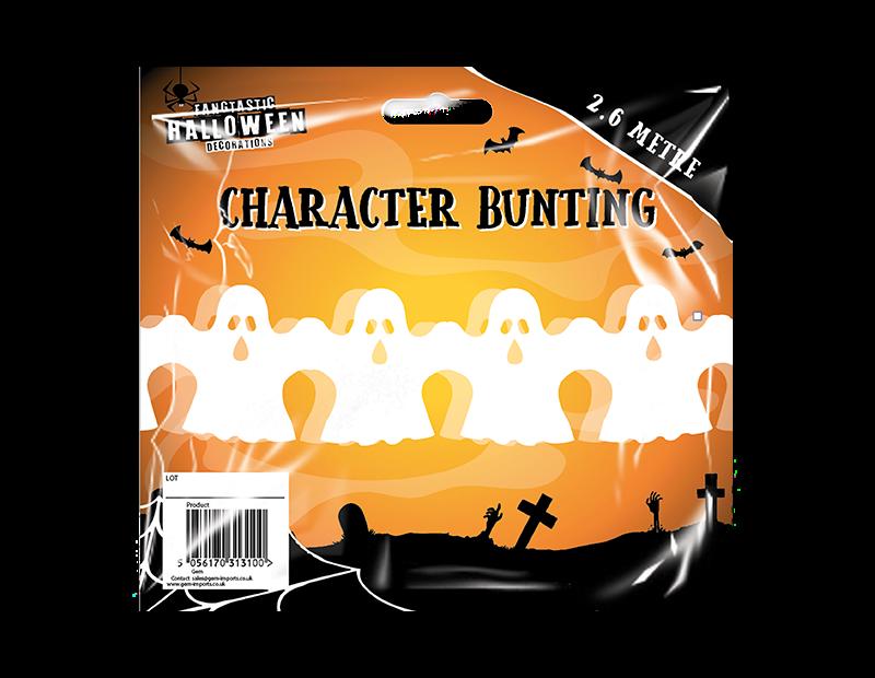 Halloween Character Bunting 2.6m