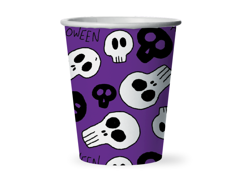 Halloween Paper Cups - 12 Pack