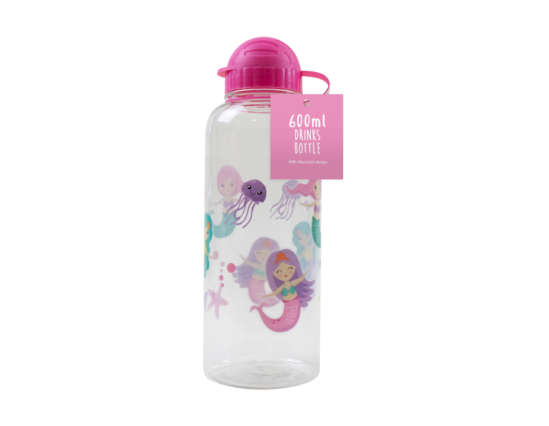 Decorated Drinks Bottle 600ml