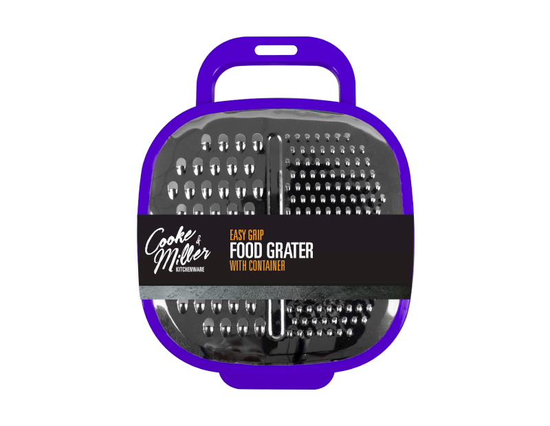 Easy Grip Food Grater & Container