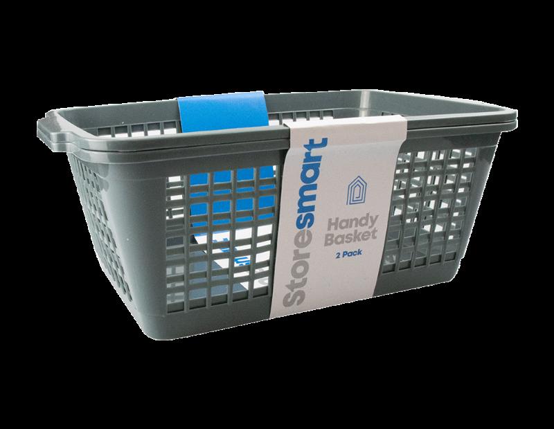 Plastic Handy Basket - 2 Pack