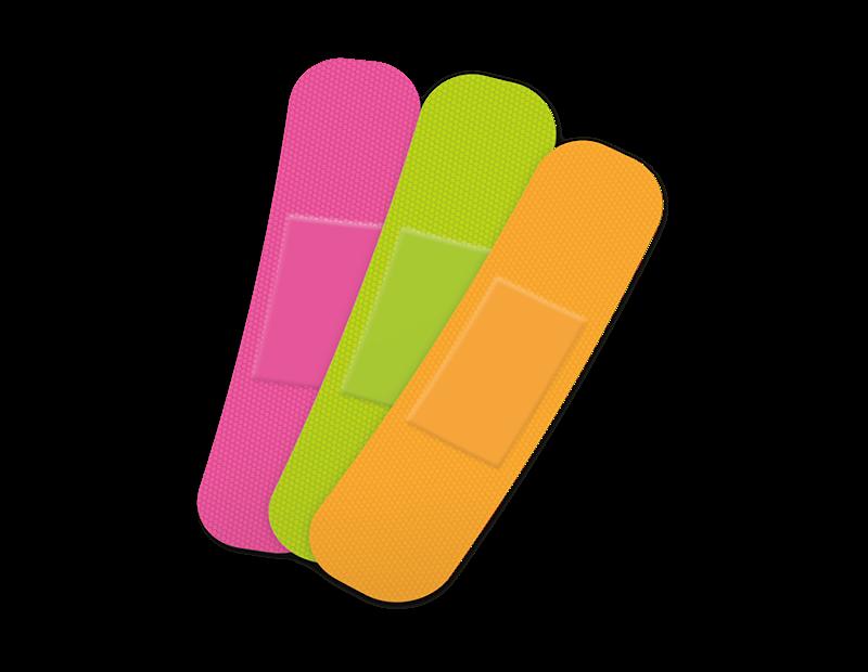 Neon Plasters - 75 Pack