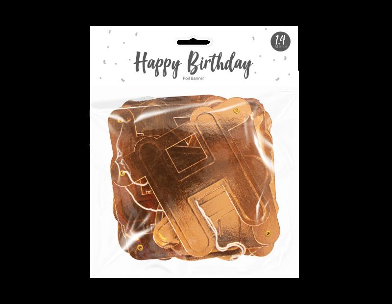 Happy Birthday Foil Banner 1.4m
