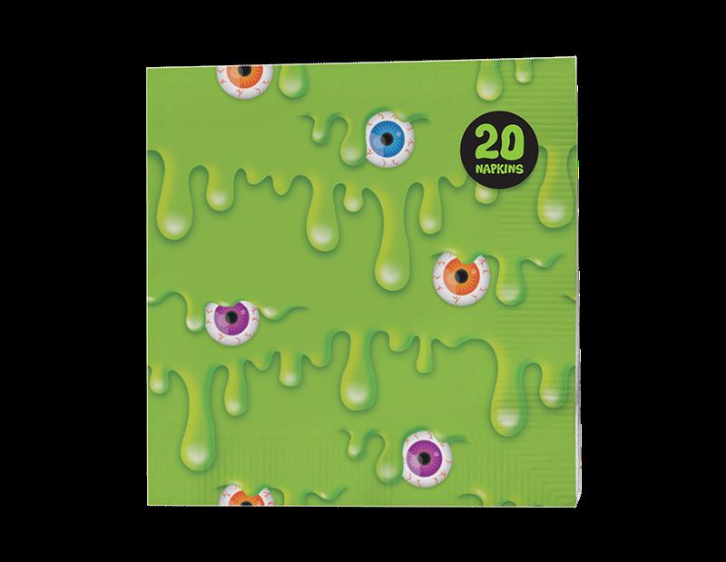 Slime Paper Napkins 3 Ply - 20 Pack