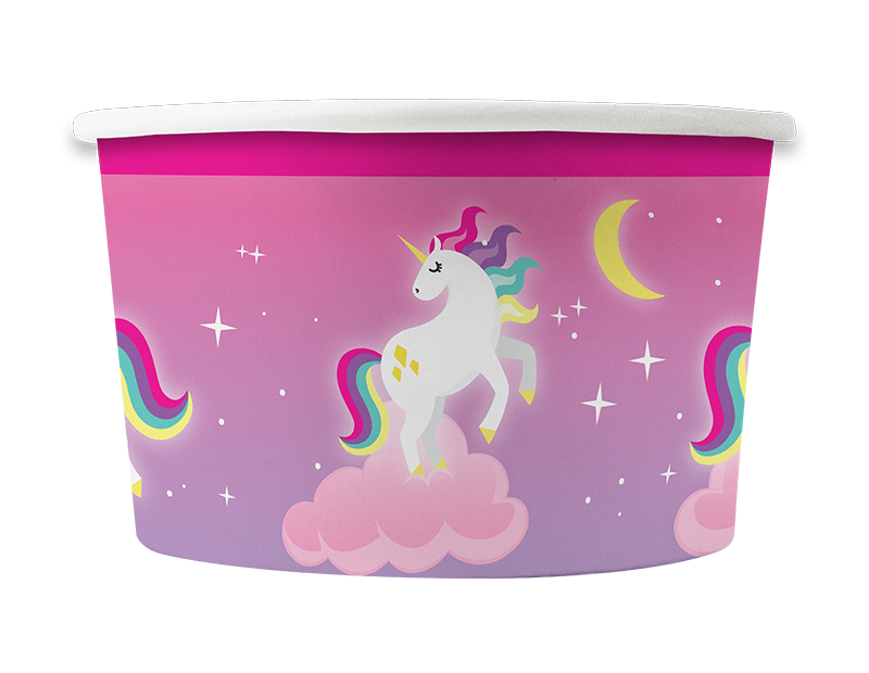 Unicorn Party Treat Tubs - 8 Pack