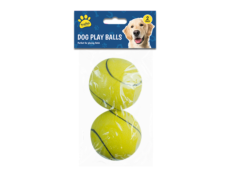 Pet Play Balls - 2 Pack