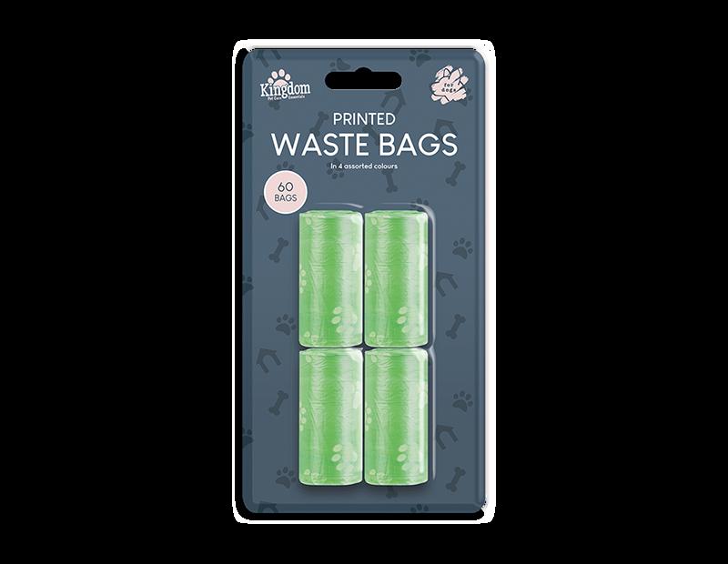 Dog Poo Bags - 60 Pack