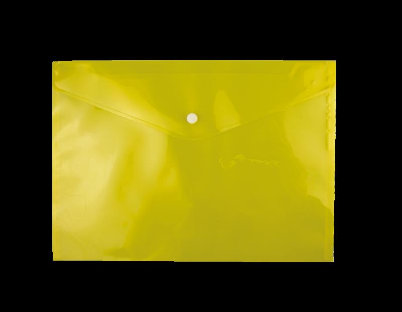 A4 Plastic Folders - 4 Pack