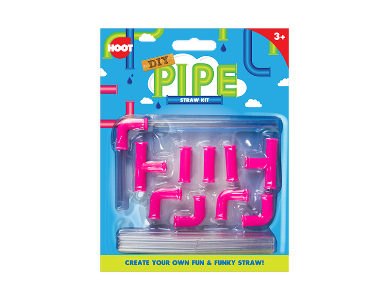 DIY Pipe Straw Kit