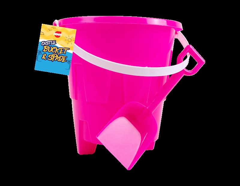 Round Castle Bucket & Spade Set