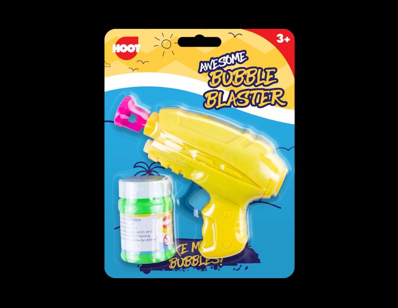 Friction Bubble Gun