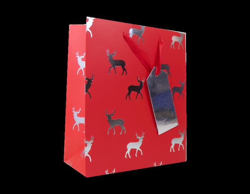 Christmas Traditional Luxury Medium Gift Bag