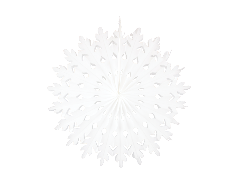 Christmas Paper Snowflake Decoration