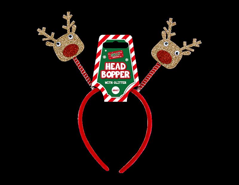 Christmas Glitter Head Bopper