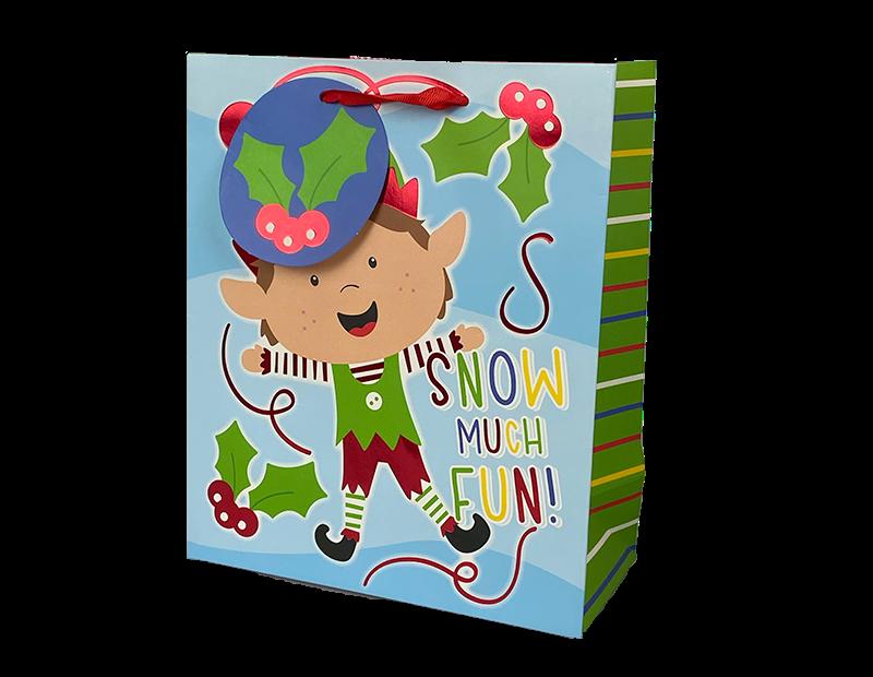 Christmas Cute Luxury Medium Gift Bag