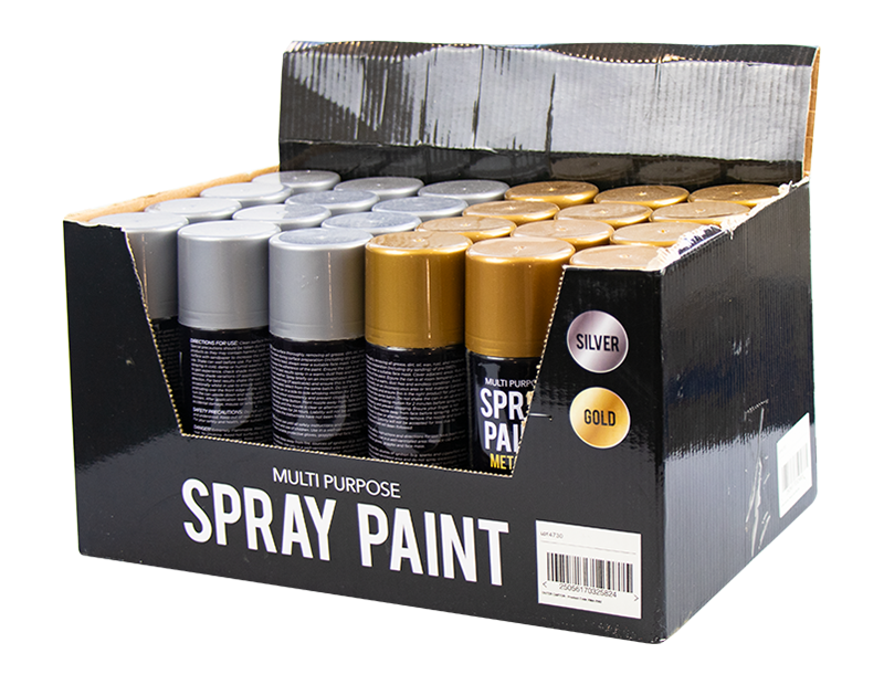 Metallic Spray Paint With PDQ