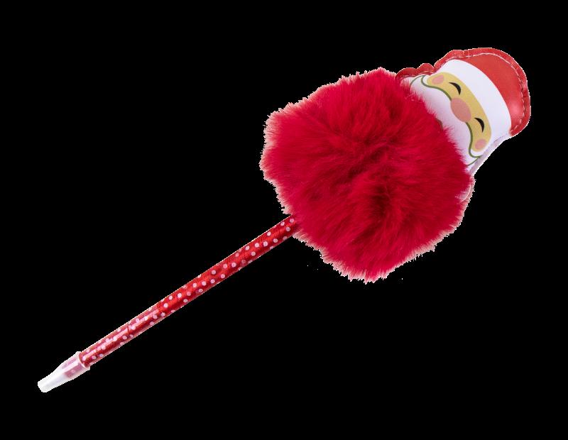 Christmas Pom Pom Pen With PDQ