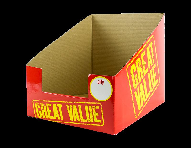 Great Value Display Box 25cm x 30cm