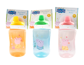 Wholesale Peppa Pig Non Spill Toddler Beakers   Gem Imports Ltd