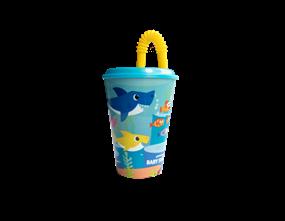 Wholesale Baby Shark Straw Tumblers | Gem Imports Ltd