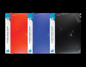 30 Pocket A4 Display Folder