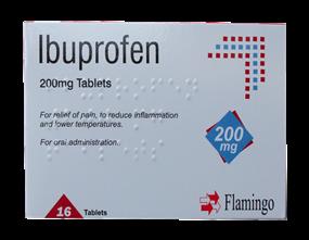 Wholesale Ibuprofen Tablets | Gem Imports Ltd