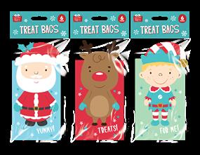 Wholesale Christmas 3D Character Treat Bags | Gem Imports Ltd