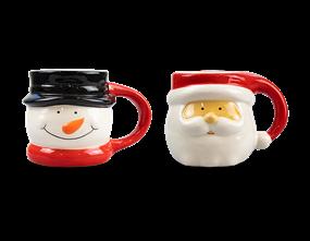 Wholesale 3D Xmas Ceramic Mug | Gem Imports Ltd