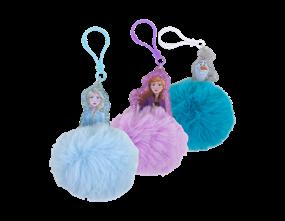 Wholesale Frozen ll Pom Pom Key Rings | Gem Imports Ltd