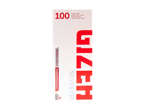 Gizeh Filtered Tubes Silver Tip