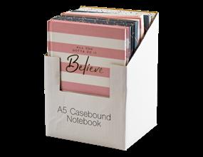 Wholesale A5 Foil Case Bound Notebooks | Gem Imports Ltd