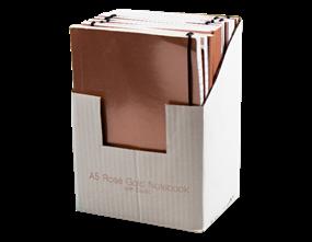 Wholesale A5 Rose Gold Foil Notebooks | Gem Imports Ltd