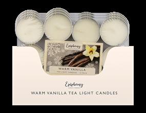 Wholesale Apple & Cinnamon Tealight Candles 12pk | Gem Imports Ltd