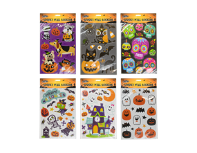 Assorted Halloween Wall Stickers