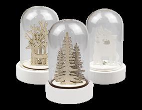 Wholesale Christmas Bell Jar Light | Gem Imports Ltd