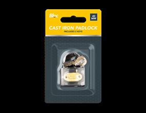 Cast Iron Padlock 40mm